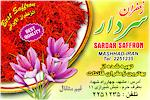 Saffron Sardar from Mashhad Iran, Best Saffron in the World, Saffron the most expensive herb in the world, Best quality saffron from Khorasan Iran