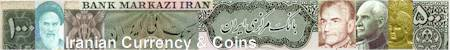 Iranian Currency and Coin Collection