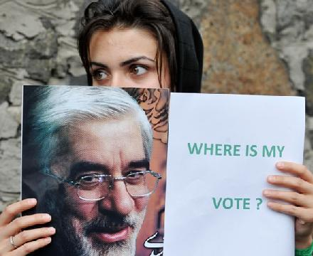 Millions of Iranians have been asking where is my vote? Where is my Neda? Where is my Voice & Where is My Freedom?